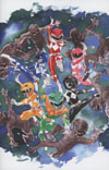 """Mighty Morphin Power Rangers (BOOM Studios) #1 Cover H Incentive Dustin Nguyen Virgin Variant Cover  <font color=""""#FF0000"""" style=""""font-weight:BOLD"""">(CLEARANCE)</FONT>"""