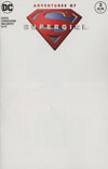 Adventures Of Supergirl #3 Cover B Variant Blank Cover