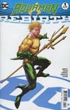 Aquaman Rebirth #1 Cover B Variant Ryan Benjamin Cover