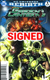 Green Lanterns #1 Cover C DF Signed By Sam Humphries