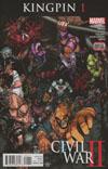Civil War II Kingpin #1 Cover A Regular Aaron Kuder Cover