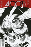 4001 AD #1 Cover I Incentive Ryan Sook Interlocking Artist Sketch Variant Cover