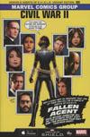Civil War II #0 Cover E Incentive Greg Land Agents Of S.H.I.E.L.D. Variant Cover (Road To Civil War II Tie-In)