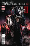 Captain America Sam Wilson #12 Cover A Regular Daniel Acuna Cover (Civil War II Tie-In)