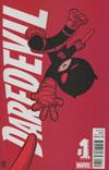 Daredevil Vol 5 Annual #1 2016 Cover B Variant Skottie Young Baby Cover
