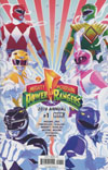 Mighty Morphin Power Rangers 2016 Annual #1 Cover A 1st Ptg Regular Goni Montes Cover