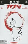 Rai Vol 2 #16 Cover A Regular David Mack Cover (4001 AD Tie-In)