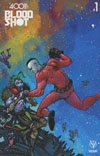 4001 AD Bloodshot #1 Cover D Incentive Ryan Lee Interlocking Mega-Cover Variant Cover