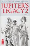 Jupiters Legacy Vol 2 #1 Cover F Incentive Mike Mayhew Black & White Cover
