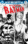 All-Star Batman #1 Cover C Midtown Exclusive Tyler Kirkham Black & White Variant Cover
