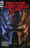 Predator vs Judge Dredd vs Aliens #3 Cover A Regular Glenn Fabry Color Cover