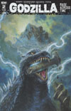 Godzilla Rage Across Time #2 Cover A Regular Bob Eggleton Cover