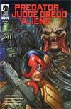 Predator vs Judge Dredd vs Aliens #4 Cover A Regular Glenn Fabry Cover