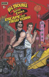 Big Trouble In Little China Escape From New York #1 Cover C Variant Michael Allred Subscription Cove