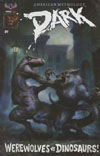 American Mythology Dark Werewolves vs Dinosaurs #1 Cover C Incentive Classic Pulp Monsters Variant Cover