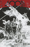4001 AD #4 Cover H Incentive Ryan Sook Interlocking Artist Sketch Variant Cover