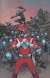 Mighty Morphin Power Rangers (BOOM Studios) #6 Cover E Incentive Takeshi Miyazawa Virgin Variant Cover
