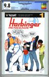Harbinger Renegade #1 Cover E Varaint Pere Perez Valiant x CGC Replica Cover