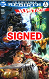 Justice League Vol 3 #1 Cover I DF Exclusive Tyler Kirkham Variant Cover Signed By Tyler Kirkham