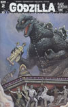 Godzilla Rage Across Time #2 Cover C Incentive Aaron John Gregory Variant Cover