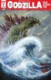 Godzilla Rage Across Time #1 Cover D 2nd Ptg Bob Eggleton Variant Cover