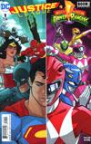 Justice League Power Rangers #1 Cover A 1st Ptg Regular Karl Kerschl Cover