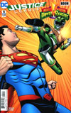 Justice League Power Rangers #1 Cover F Variant Chris Sprouse Superman Green Ranger Cover