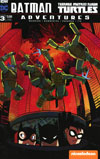 Batman Teenage Mutant Ninja Turtles Adventures #3 Cover B Variant Erica Henderson Subscription Cover