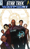 Star Trek Waypoint #3 Cover B Variant David Messina Subscription Cover