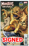 Monsters Unleashed #1 Cover N Midtown Exclusive Arthur Adams Variant Cover Signed By Cullen Bunn