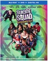 Suicide Squad Extended Cut Bu-ray DVD
