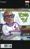 Kingpin Vol 2 #1 Cover B Variant Julian Totino Tedesco Marvel Hip-Hop Cover