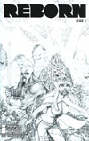 Reborn #3 Cover B Incentive Greg Capullo Sketch Cover