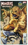 Monsters Unleashed #1 Cover B Midtown Exclusive Arthur Adams Variant Cover