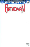 Batwoman Vol 2 #1 Cover C Variant Blank Cover