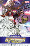 Color Your Own Guardians Of The Galaxy TP