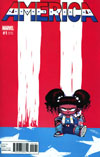 America #1 Cover D Variant Skottie Young Baby Cover