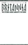 Britannia We Who Are About To Die #1 Cover C Variant Blank Cover
