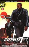 Infinite Seven #3 Cover B Variant Arturo Mesa Movie Poster Cover