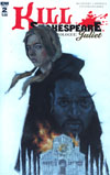 Kill Shakespeare Past Is Prologue Juliet #2 Cover A Regular Corin Howell Cover
