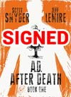 AD After Death Book 1 Cover B Signed By Scott Snyder