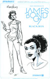 James Bond Vol 2 #1 Cover L Variant Moneypenny Artboard Variant Cover