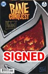 Bane Conquest #1 Cover D DF Gold Signature Series Signed By Graham Nolan