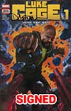 Luke Cage #1 Cover F DF Signed By David Walker