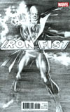 Iron Fist Vol 5 #1 Cover G Incentive Alex Ross Black & White Variant Cover