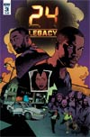 24 Legacy Rules Of Engagement #3 Cover A Regular Georges Jeanty Cover