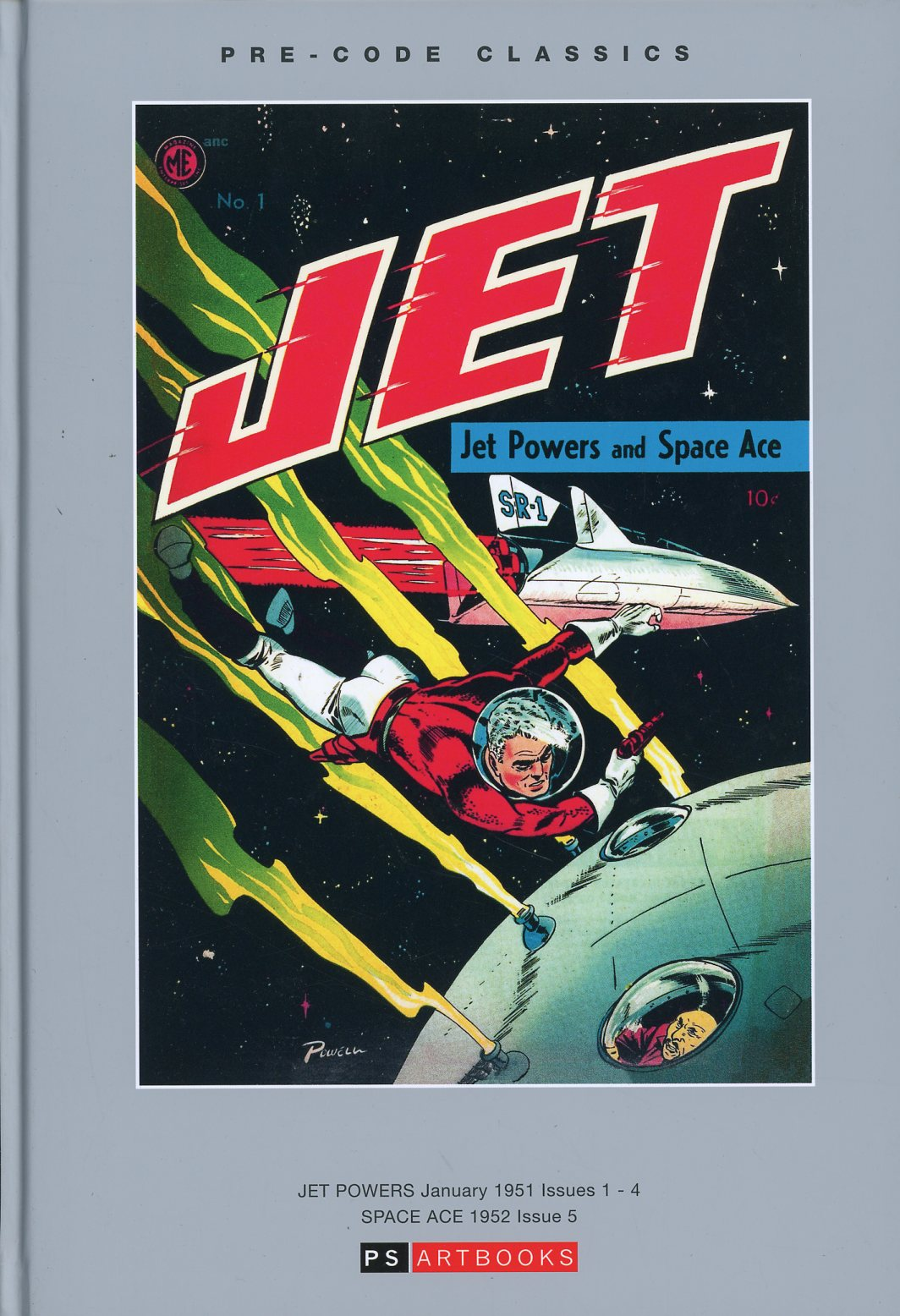 Pre-Code Classics Jet Powers And Space Ace Vol 1 HC