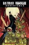 Batman Teenage Mutant Ninja Turtles Adventures TP Book Market Jon Sommariva Cover