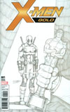 X-Men Gold #1 Cover I Incentive Ron Lim Party Sketch Variant Cover (Resurrxion Tie-In)
