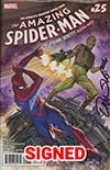 Amazing Spider-Man Vol 4 #25 Cover H Regular Alex Ross Cover Signed By Dan Slott